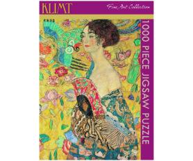 Klimt - Lady with Fan Box