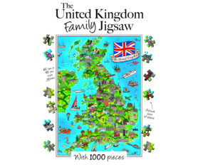 United Kingdom Family Jigsaw Box