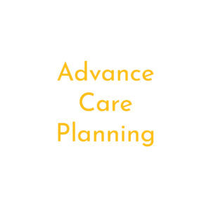 Advance care planning square
