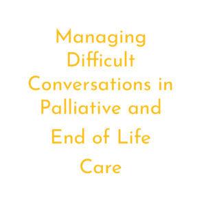 Managing difficult convos